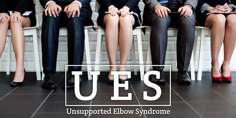 Combat Unsupported Elbow Syndrome and Sitting Disease